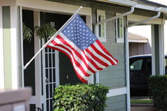 American Flag. Flag of the United States of America stock photography