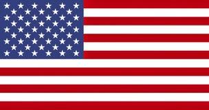 Flag of the USA, texturised vector illustration