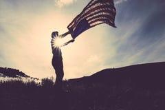 American Flag usa Stock Image