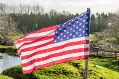 American Flag, USA, Patriotism Stock Photography