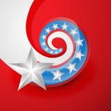 American flag vector Stock Photo