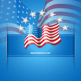American flag vector Royalty Free Stock Photo