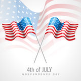 American flag vector Royalty Free Stock Images