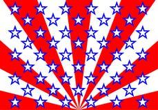 American flag (vector) Royalty Free Stock Photos