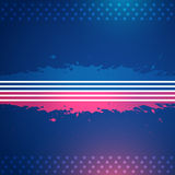 American flag vector design Royalty Free Stock Image