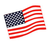 American  flag vector Stock Image