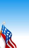 American Flag Vector Stock Photography