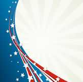 American Flag, Vector patriotic background Stock Photo