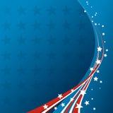 American Flag, Vector patriotic background Stock Photo