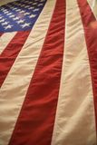 American Flag Vertical Stock Photography
