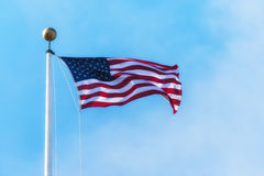 The American flag Royalty Free Stock Photos