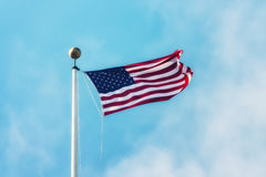 The American flag Royalty Free Stock Photography