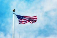 The American flag Stock Photos