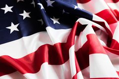 American flag waving background. Independence Day, Memorial Day, Labor Day - Image royalty free stock images