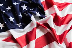 American flag waving background. Independence Day, Memorial Day, Labor Day - Image royalty free stock photography