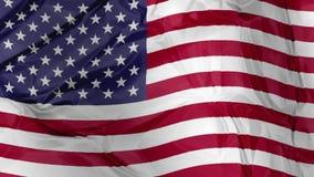 American Flag waving stock illustration