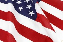 American flag waving patriotic display