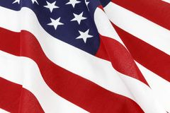 Free American Flag Waving Patriotic Display Royalty Free Stock Images - 109100819