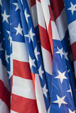 American flag waving Royalty Free Stock Images