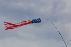 American Flag Windsock Royalty Free Stock Image