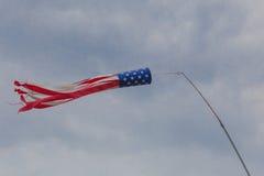 American Flag Windsock Royalty Free Stock Image