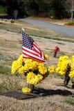 American Gravesite Royalty Free Stock Photo