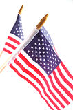 American Flags. Stars and Stripes stock photography
