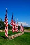american flags Στοκ Εικόνες