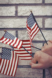 American Flags Patriotism Royalty Free Stock Image