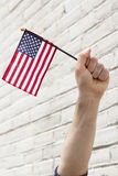 American Flags Patriotism Stock Photo
