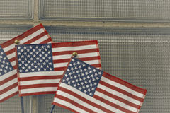American Flags Patriotism Royalty Free Stock Photography