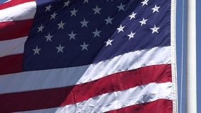 American Flags, United States, 4th of July stock video footage