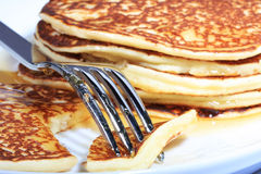 American flapjacks Royalty Free Stock Images
