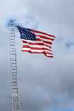 The American flag in all of its glory. Royalty Free Stock Image