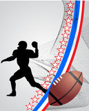 American foball Player Royalty Free Stock Photos