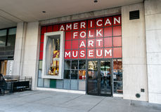 American Folk Art Museum Stock Photography