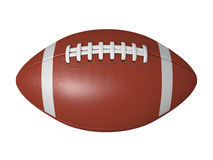 American footbal ball. Isolated on a white background vector illustration