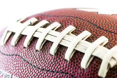 American footbal ball. Close up Stock Images