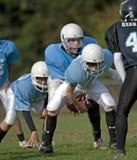 American football 03. October 18, 2008 Century High School youth football V Catholic Youth Organization Eagles (CYO).  Final score Century 14 CYO 48.  CYO Royalty Free Stock Images