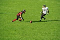 American Football. In Germany Siegen Sentinels vs. Oberberg Bandits Royalty Free Stock Photography