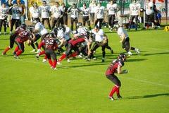 American Football. In Germany: Siegen Sentinels vs. Oberberg Bandits Royalty Free Stock Images