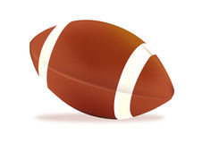 American football. An illustration of american football Royalty Free Stock Photos