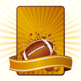 american football Royalty Free Stock Photos