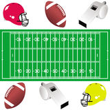American football. This image represents a concept for American football Stock Photo