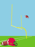 American football. This image represents a concept for American football Royalty Free Stock Photo