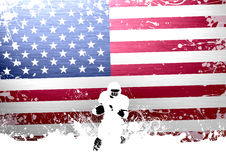 American football. Abstract grunge american football background with space Royalty Free Stock Images