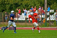 American football Stock Images