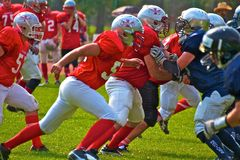American football Stock Photos