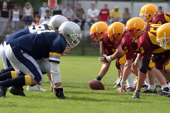 American football. Players of ametican football, sports Stock Images