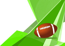 American football, abstract design Royalty Free Stock Photo